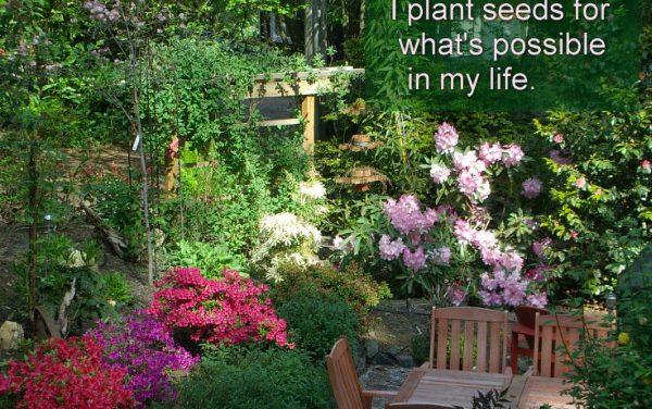 Hypnotic gardening