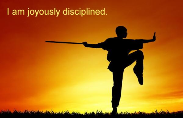 Joyous Discipline