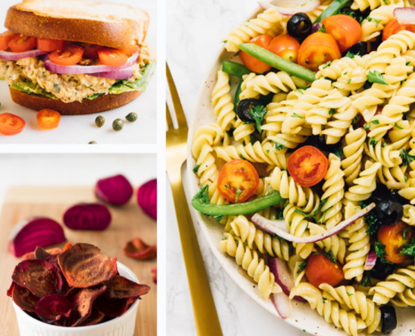 Vegan back to school lunches