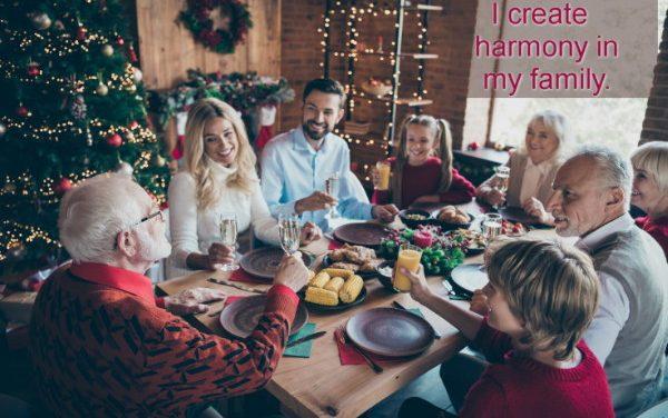 Let's keep the Holidays Harmonious!