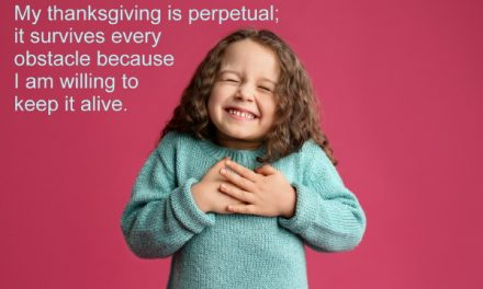 The Velcro Power of Giving Thanks